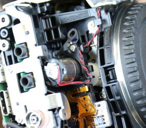 تعمیر موتور آینه دوربین