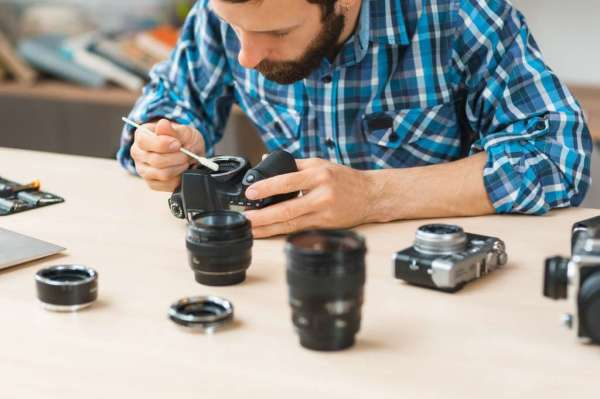تعمیرات دوربین های حرفه ای