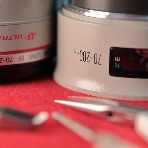 تعمیرات انواع لنز های عکاسی حرفه ای کانن